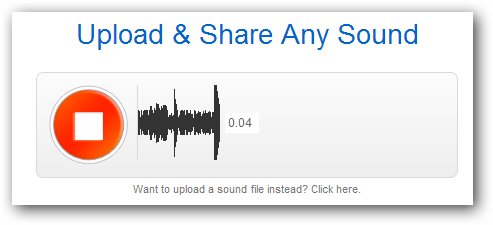 SoundCloud-recording