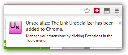 Unsocialize-installed