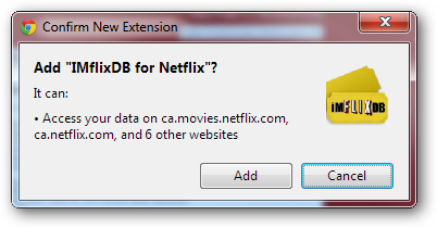 Add IMDB Ratings and Rotten Tomatoes Reviews to Netflix in Chrome