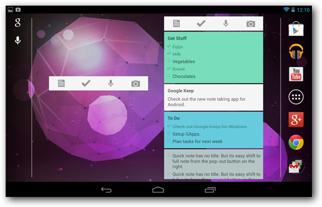 Google Keep for Android Makes Note-Taking Easy, Fun & Efficient