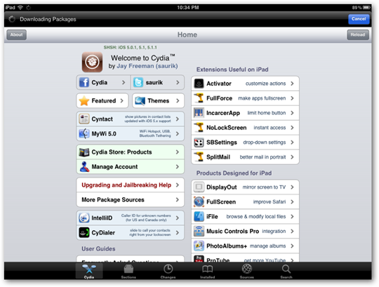 cydia-ipad-interface-jailbreak-store