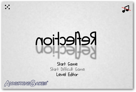 reflection-title-menu-noitcelfer-flash-game