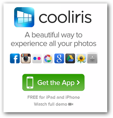 Cooliris-ios