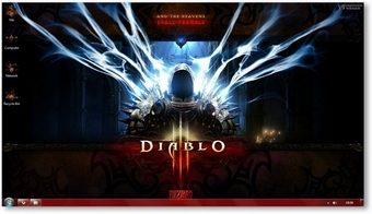 Diablo 3 Windows 7 Theme