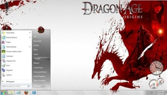 Dragon Age Windows 7 Theme